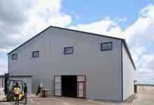 Склады и ангары, профнастил для склада, склады из профнастила